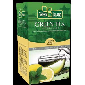 Green Island Зелен чай с Мента и Лимон 20х1,5г