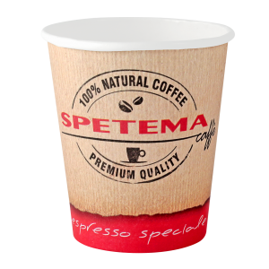 Картонена чаша Spetema 4 OZ 113 мл  стек 100 бр