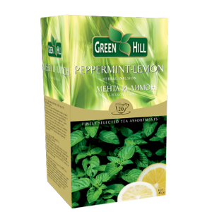 Green Hill Мента и Лимон 20х1,5г