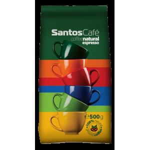 SantosCafe Natural, зърна, 0.500 кг