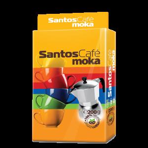 SantosCafe Moka мляно, вакуум 0.200кг