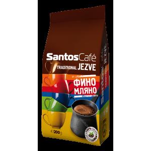 SantosCafe traditionall Jezve фино мляно кафе 0.200 кг