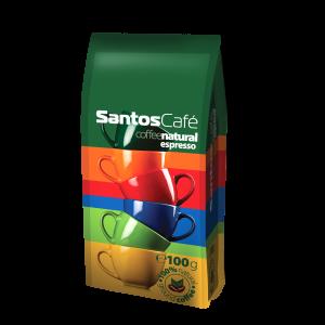 SantosCafe Natural мляно 0.100кг