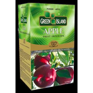 Green Island Ябълка плодов чай кутия 20 бр