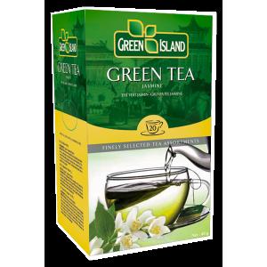 Green Island Зелен чай с Жасмин кутия 20 бр
