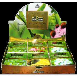 Green Island Селекция Зелен чай кутия 30 бр