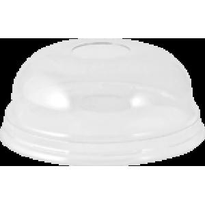 Капак за пластмасова чаша за фрапе 0.300 мл стек 100 бр