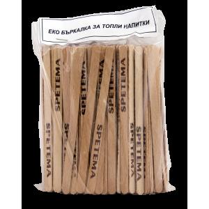 Дървени еко бъркалки 11 см плик 200 бр