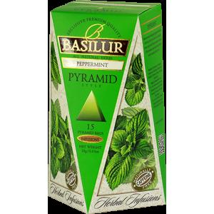 Basilur Билков чай МЕНТА - пирамида 1.2 г х 15 бр