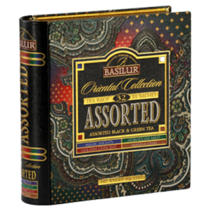 Basilur колекция Книга Ориент асорти чай 32 бр