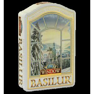 Basilur колекция Прозорец Зима мет кутия 100 г