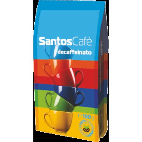 SantosCafe Decaffeinato, мляно 0.100кг