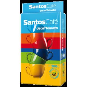 SantosCafe Decafeinato мляно, вакуум 0.200кг