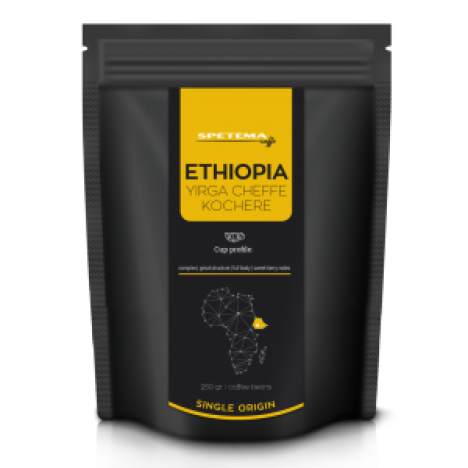 Spetema Ethiopia Yirga Cheffe Single Origin зърна 0.250 кг