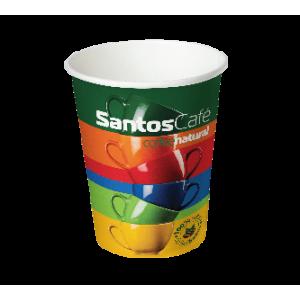 Картонена чаша Santos 7 OZ стек 100 бр