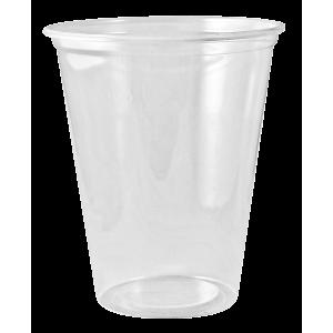 Пластмасова чаша за фрапе 0.300 мл стек 50 бр