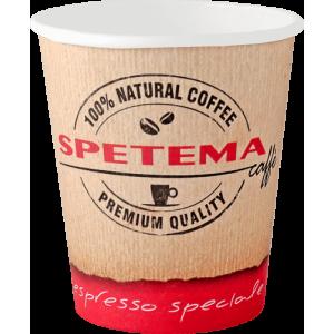 Картонена чаша Spetema 14 OZ 40%0 мл стек 50 бр